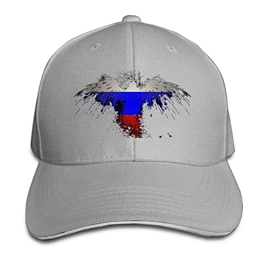 8be29f215 Adult Fashion New USA Eagle Flag and Russia Baseball Hats 100 ...