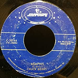 Chuck Berry School Days Ring Goes The Bell / Memphis 45 rpm single