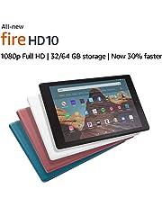 """All-New Fire HD 10 Tablet (10.1"""" 1080p full HD display, 32 GB) – Black"""