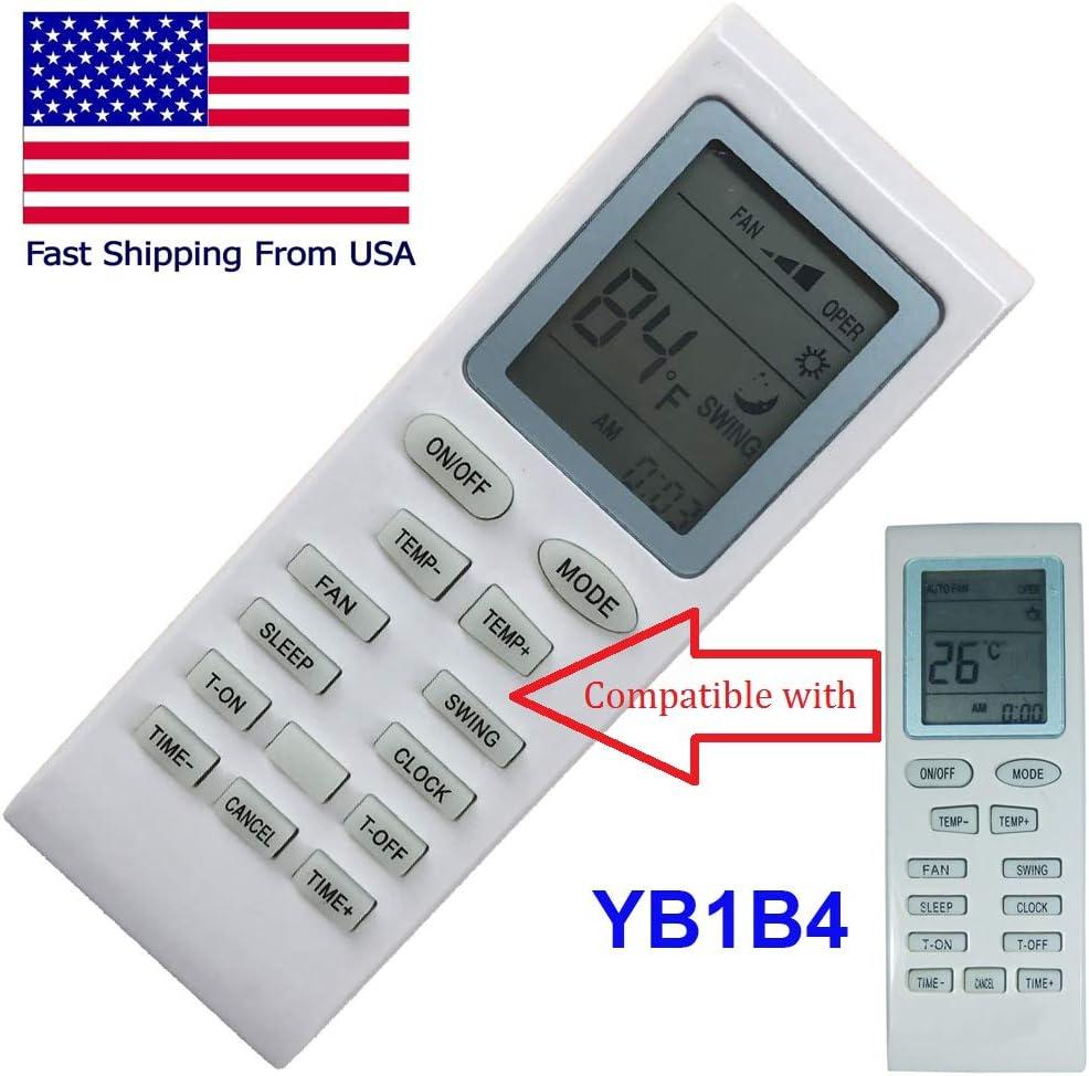 CHOUBENBEN Remplacement pour T/él/écommande de climatiseur Ansonic YB1B4 AC