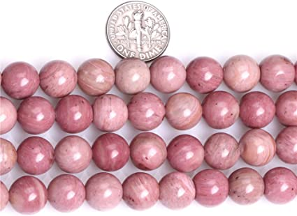 Red 10mm 10mm SHGbeads Perles de rhodonite rouge naturelle pour fabrication de bijoux 12 /à 16/mm Cordon de 38,1/cm