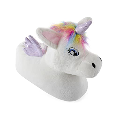 Girl s 3D Unicorn Slippers 13-1 ce692d354