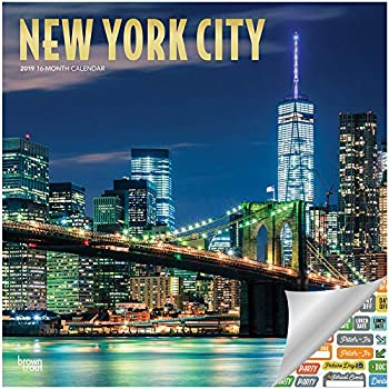 School Calendar 2019-16 Nyc Amazon.: New York City Calendar 2019 Set   Deluxe 2019 New