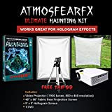 Amosfearfx Phantasms DVD Video Projector Bundle.Includes Projector, Window Projection and Halloween Screen