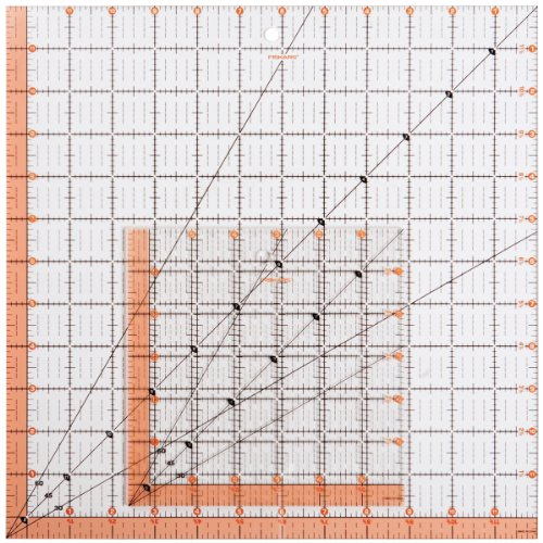Fiskars Square Acrylic Ruler Set (187210-1001) ()
