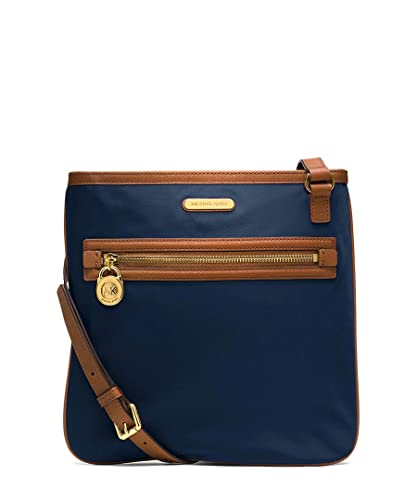 82b713445224 MICHAEL Michael Kors Large Nylon Kempton Crossbody in Navy Blue ...