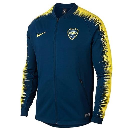size 40 34750 5ed80 Amazon.com: Nike Official 2018-2019 Boca Juniors CABJ Anthem ...
