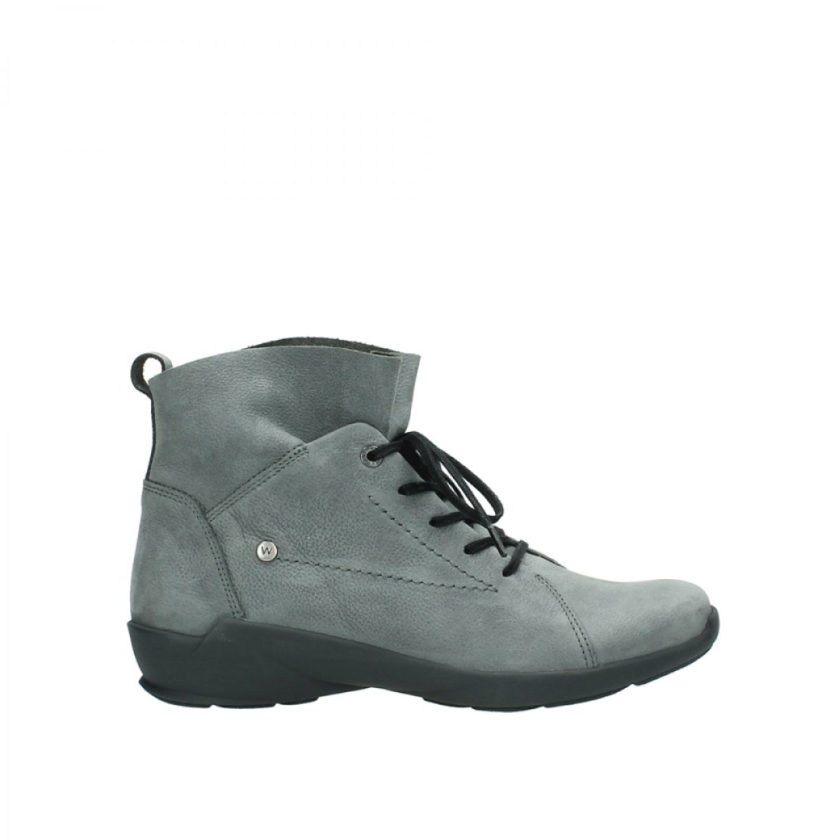 Wolky comodidad Lace Up Zapatos 01574 Bello 40 EU|10220 grey nubuck