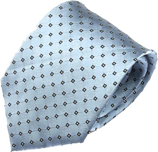 Zhongsufei Corbata Casual de Negocios para Hombre Light Blue ...
