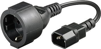 Goobay Netzkabel 23 Cm Elektronik