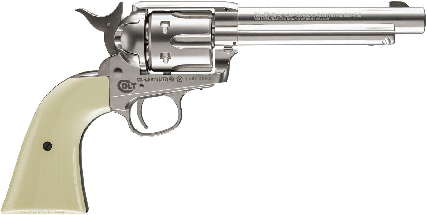 Revolver perdigon Colt Peacemaker Gas C02. Calibre 4,5mm. 2 Julios de potencia