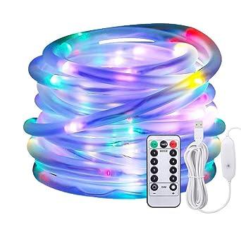 Led Lichtschlauch Als Weihnachtsdeko Afufu 10m 136er Lichterschlauch