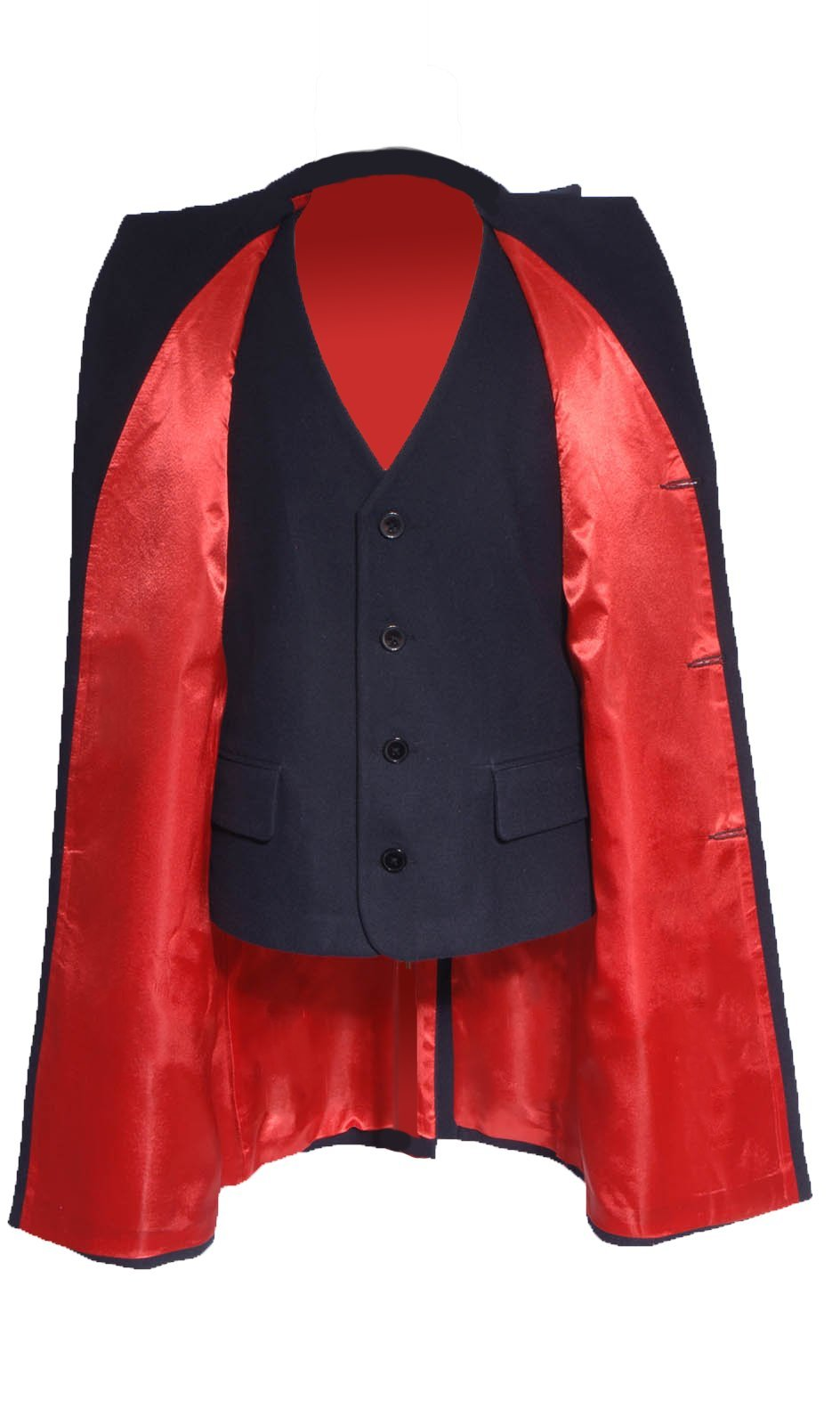 Cosdaddy 12th Doctor Trench Coat Costume for Doctor the Who (M, Coat+vest)