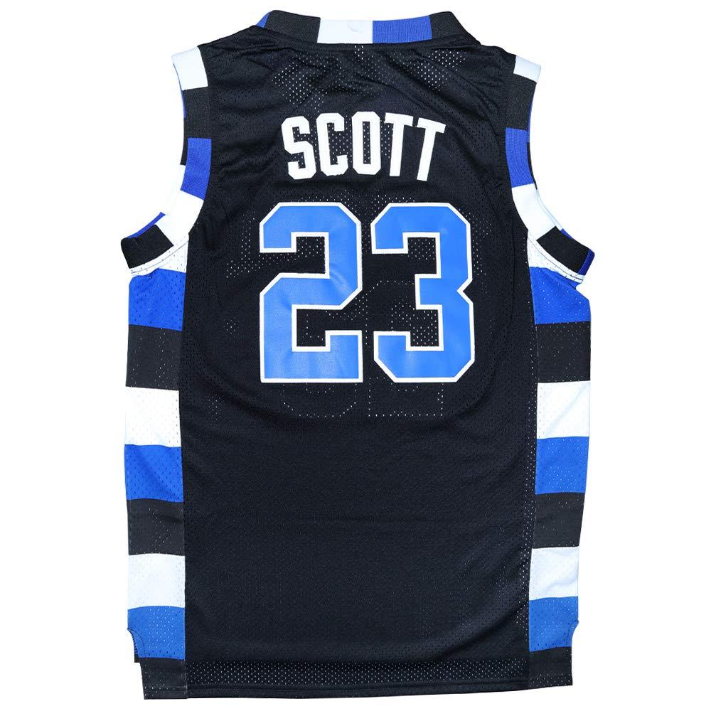 sports shoes 0dbc8 82ad5 Amazon.com: Micjersey One Tree Hill #23 Ravens Basketball ...