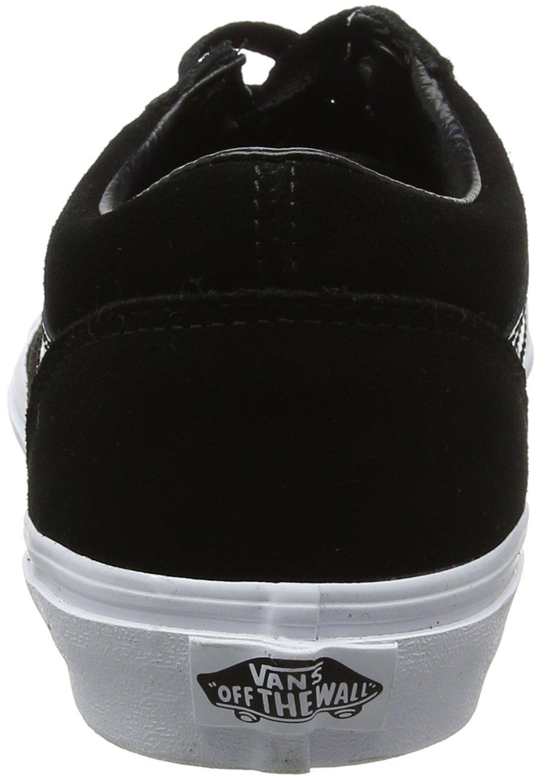 Vans Bleu/True Unisex-Kinder Old Skool Suede Sneaker, Dress Bleu/True Vans Blanc Schwarz (Suede/ schwarz/Gold) 3fb649