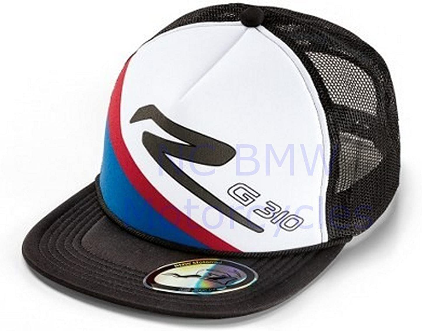 BMW Genuine Motorrad Motorcycle Smart Cc Cap Black//White//Red//Blue One Size