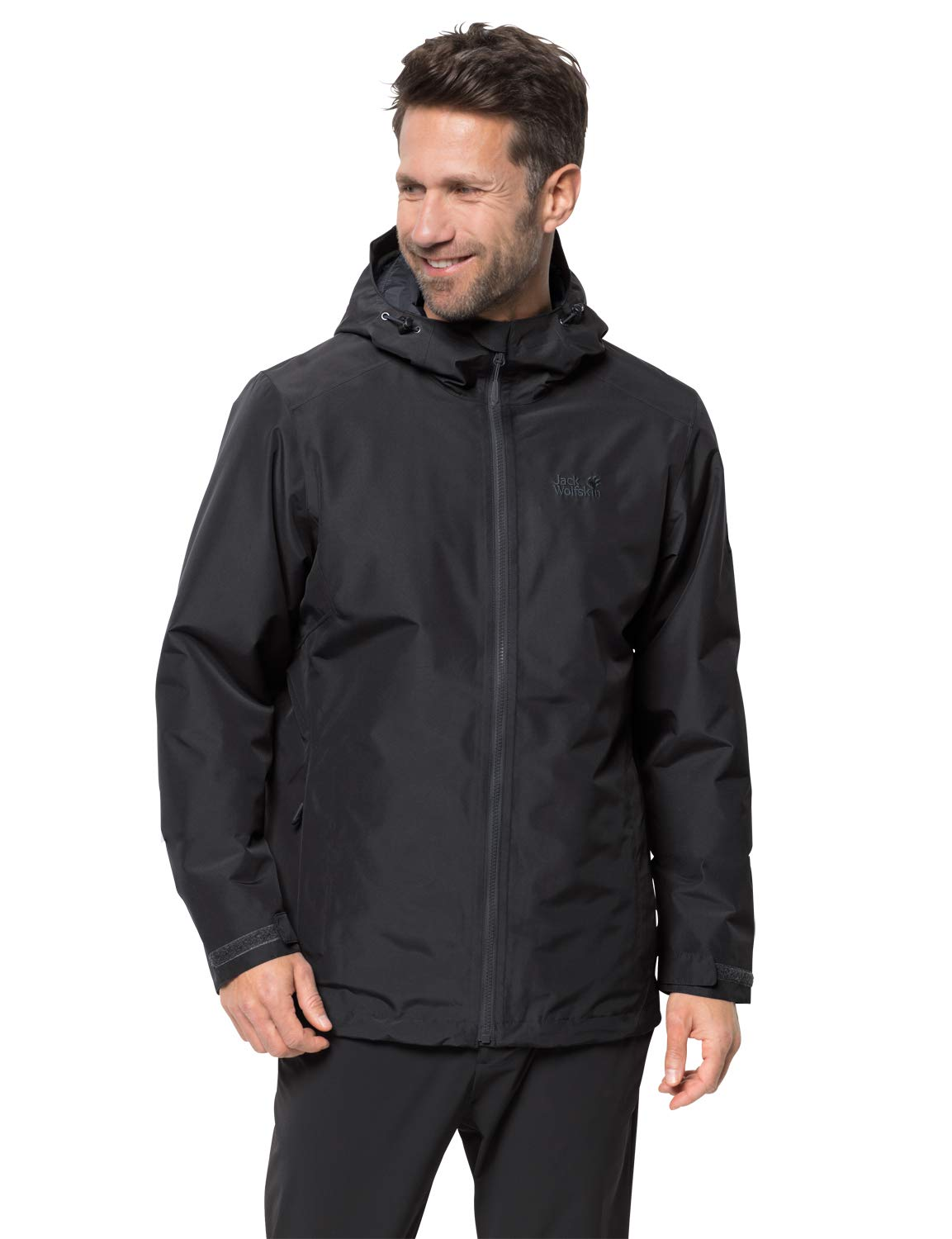 Chaqueta con aislamiento impermeable Chilly Morning Jack Wolfskin para hombre