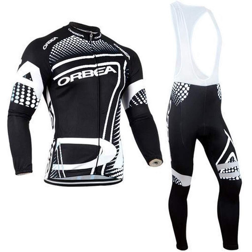 Lilongjiao Radtrikot Langarm Set Frühling und Herbst Sommer Männer und Frauen Mountainbike Kleidung Fahrrad Radfahren Hosen Sportswear