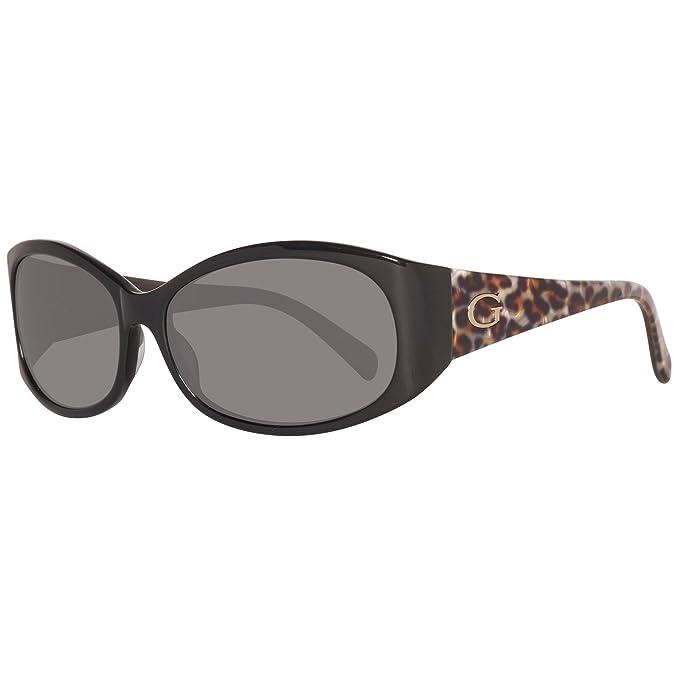 Guess GU7377-58C33 Gafas de sol, Negro, 58 para Mujer ...