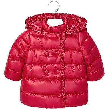 Mayoral - Abrigos - para bebé niña rojo 86 cm: Amazon.es: Ropa y accesorios
