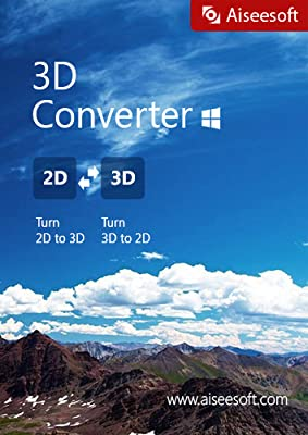 Aiseesoft 3D Converter - The most professional and easy-to-use 3D Video Converter, allowing users to convert 2D videos to 3D, convert 3D to 2D as well as convert 3D modes [Download]