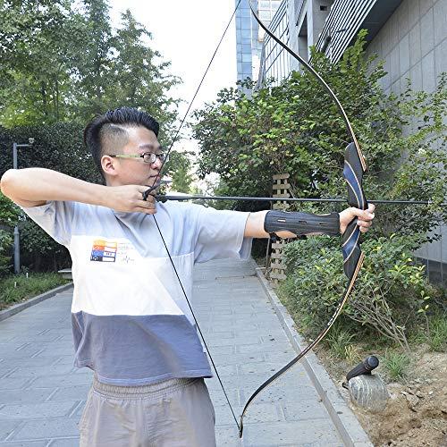 Tongtu Outdoor 54 Takedown Sportbogen Recurvebogen Recurve Bow Jagd Ziel Rechte Hand Bow Draw Gewicht in 30-50lbs