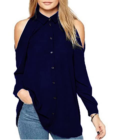 Camisetas Mujer Blusas T Shirt Cmisetas Con Manga Larga De Color SÓLido Ocasional Camisa Tallas Grandes
