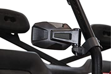 Pair of seizmik breakaway side mirrors and rear view mirror set Can Am Maverick