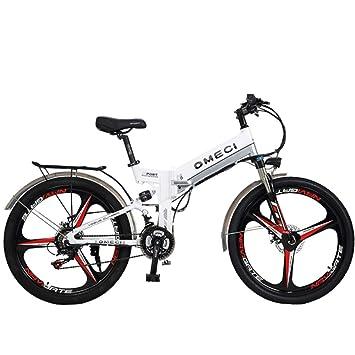 GTYW, Eléctrico, Plegable, Bicicleta, 26 Pulgadas, Bicicleta De Montaña, Ciclomotor para Adultos, 48V10ah, Bicicleta Eléctrica, Coche Eléctrico Plegable ...