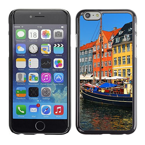 Premio Sottile Slim Cassa Custodia Case Cover Shell // V00002824 Copenhague Nyhavn // Apple iPhone 6 6S 6G PLUS 5.5""
