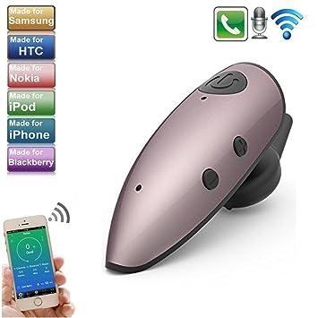 TechCode - Auriculares inalámbricos con micrófono Bluetooth 4.1, manos libres, universales para todos los