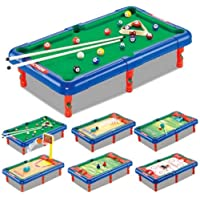 JAY ANTIQUES 6 in 1 Action Sports Activity Tabletop Game Toy for Kids