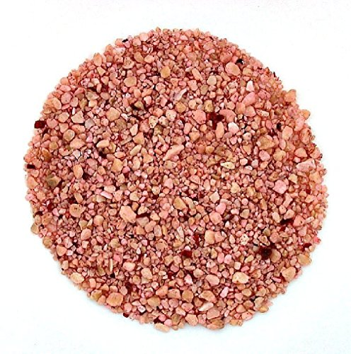 1/4 Ounce Pink Dyed Natural Coral Inlay Pieces Sand Painting Craft 4mm And Less Pink Coral Inlay