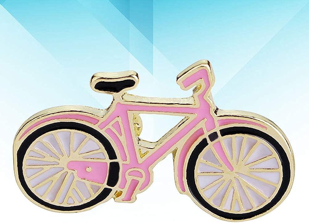 Pink TENDYCOCO Brosche Emaille Pin Glasur Fahrrad Form Design Revers Pin Hut Pin M/ädchen Geschenk Tasche Tuch Kleid Zubeh/ör Dekor