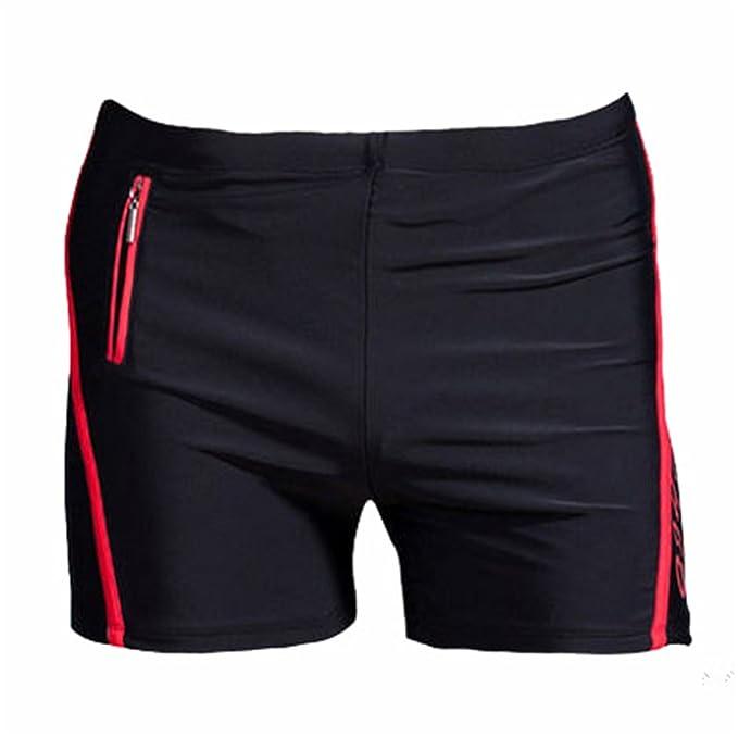 eaf11b425a Orcan Bluce Xl-6Xl Plus Size Swimwear Men Swimming Trunks Zipper Pocket  Swimsuit Swim Shorts