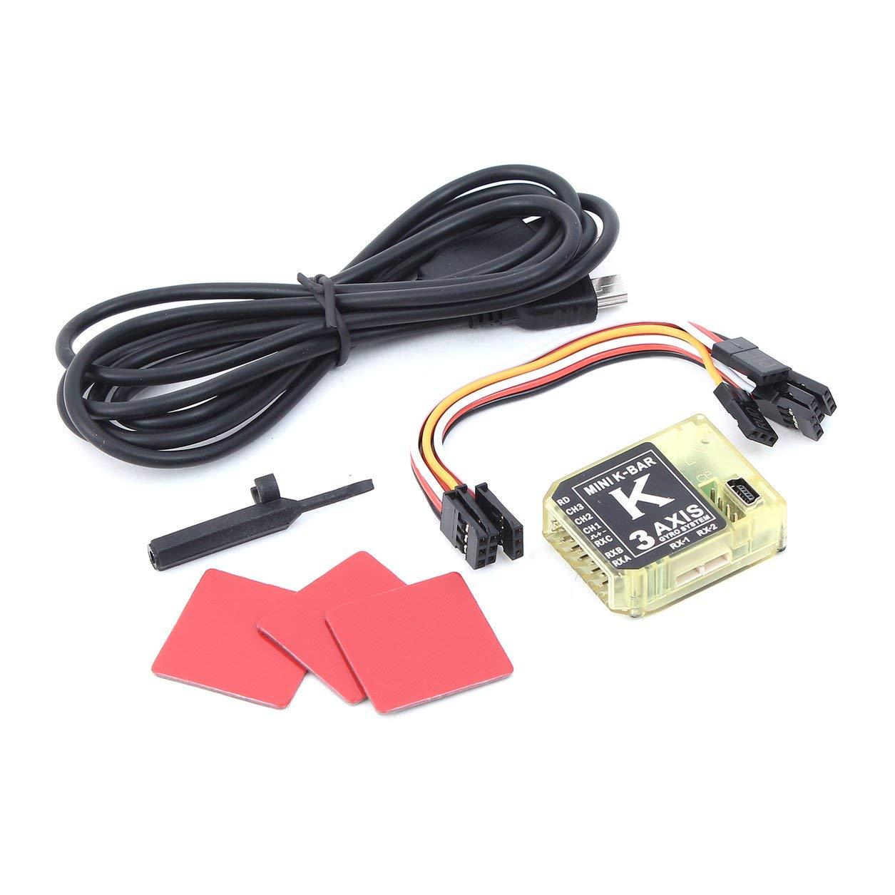 Dailyinshop ALZRC - Mini K-Bar V2 3-Achsen-Gyro Paddellos Stabilisierungssystem für RC Drone