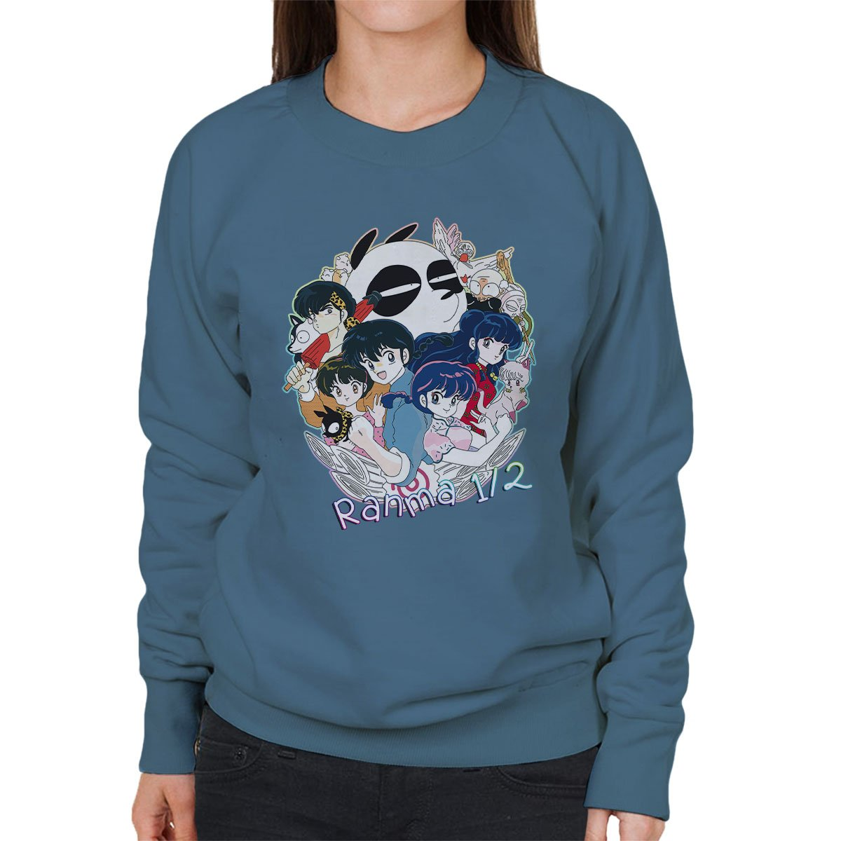 Cloud City 7 Ranma Characters Womens Sweatshirt: Amazon.es: Ropa y accesorios
