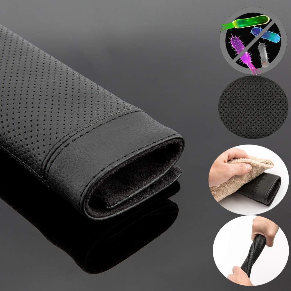 SUNTATOP Paire de Coussinets Confortables pour Ceinture de S/écurit/é Noir