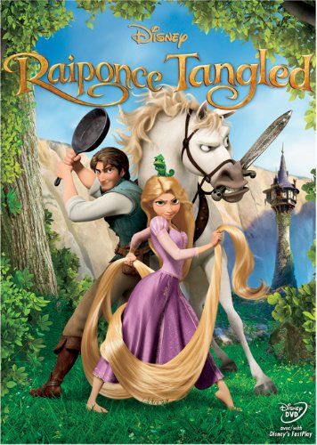 Raiponce / Tangled (Bilingual) Mandy Moore Zachary Levi 91735 Anime & Manga