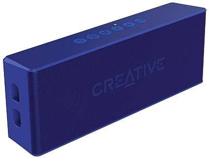 Creative MUVO-2 51MF8255AA002 Bluetooth Wireless Speaker (Blue) <span at amazon