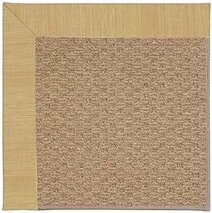 "8' x 8' Square Made-to-Order Oscar Isberian Rugs Area Rug Bramble Color Machine Made USA ""Zoe Collection"" Raffia Design"