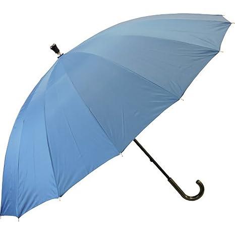Paraguas bastón Countryside, 120 cm, azul pavo real