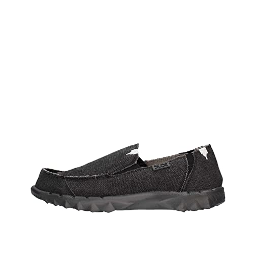 Dude Farty Black - Mocasines Hombre Negro 42: Amazon.es: Zapatos y complementos