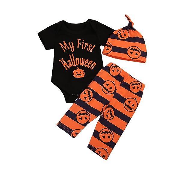 Trajes de Halloween para bebés Unisex recién Nacidos Mi Primer ...