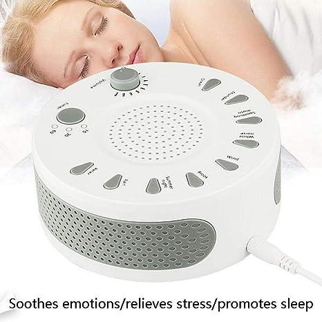 Máquina de Ruido Blanco Instrumento de sueño con música programada Máquina para Dormir de Temporizador Sonidos