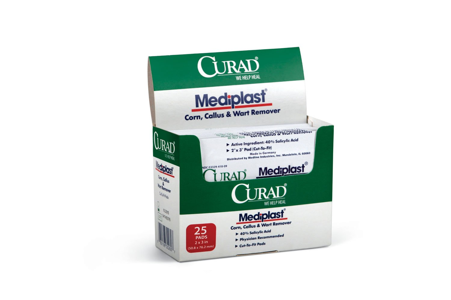 MEDLINE CUR01496 Curad Mediplast Wart Pads (Pack of 150)
