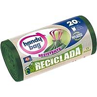 Handy Bag Bolsas de basura recicladas, 20 l