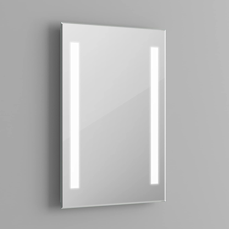 500 x 700 mm modern illuminated backlit led bathroom mirror light ml2107 ibathuk amazoncouk diy u0026 tools