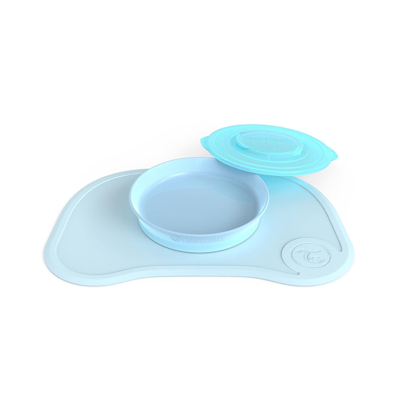 Twistshake Click Mat + Plate 6+m Pastel, Blue 78130