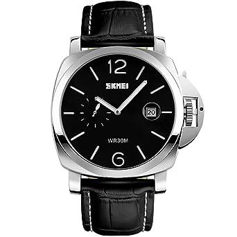 Große schwarze Uhren